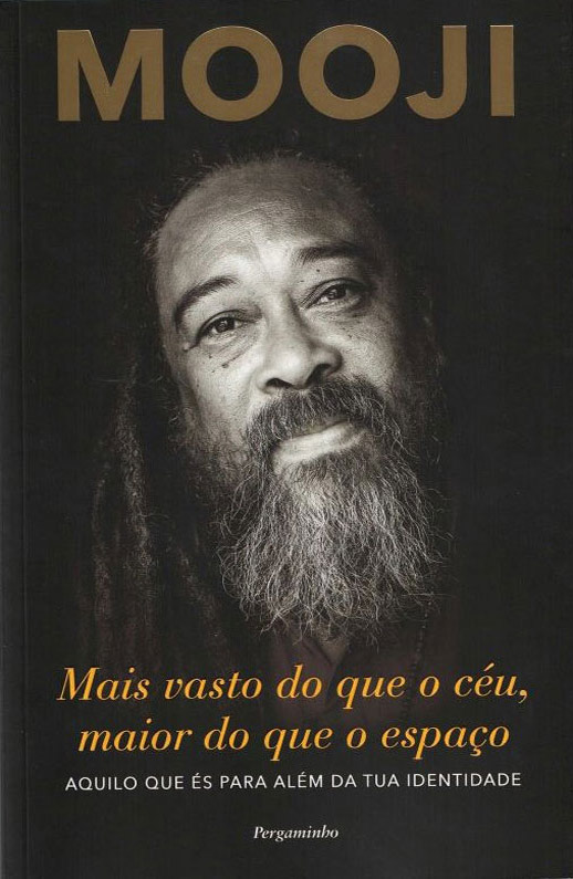 Vaster than Sky - book by Mooji translated to Portuguese